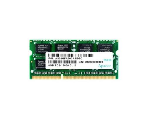 Apacer DDR3 SODIMM 8GB DS.08G2K.KAM PC3-12800, 1600MHz