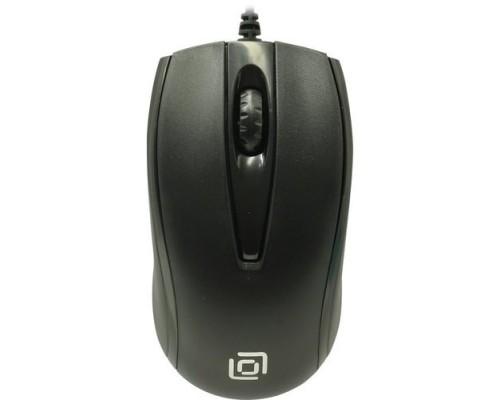 Oklick 325M черный оптическая (1000dpi) USB (2but) 1091340