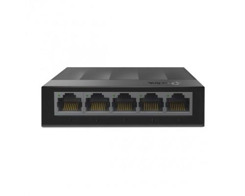 TP-Link LS1005G 5-портовый 10/100/1000 Мбит/с настольный коммутатор SMB