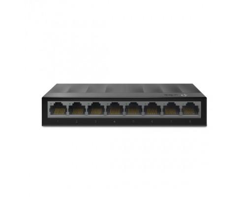 TP-Link LS1008G 8-портовый 10/100/1000 Мбит/с настольный коммутатор SMB
