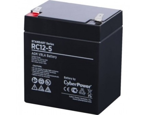 CyberPower Аккумулятор RC 12-5 12V/5Ah