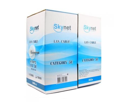 SkyNet FTP indoor 4x2x0,48, медный, FLUKE TEST, кат.5e, однож., 305 м, box, серый CSS-FTP-4-CU