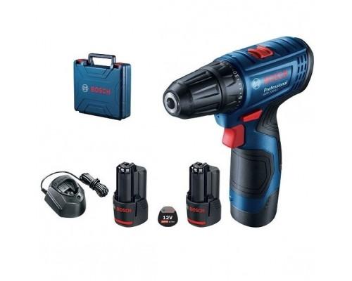 Bosch GSR 120-LI Ак.др-шур 06019G8020 12 В, 1500 об/мин, 2x2,0 Ач, кейс, 0.8 кг