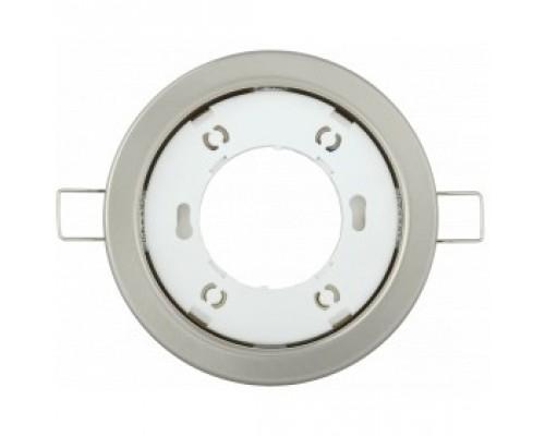 Iek LUVB0-GX53-1-K27 Светильник встраиваемый под лампу GX53 хром матовый