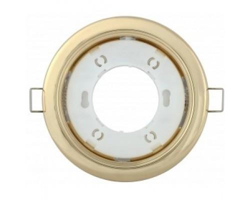 Iek LUVB0-GX53-1-K22 Светильник встраиваемый под лампу GX53 золото