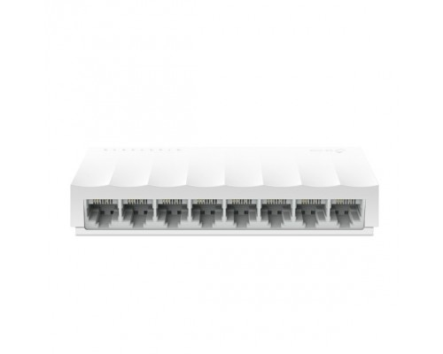 TP-Link LS1008 8-портовый 10/100 Мбит/с неуправляемый коммутатор, 8 портов RJ45 10/100 Мбит/с SMB