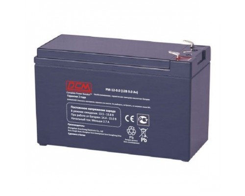 Powercom Аккумуляторная батарея PM-12-9.0 12В/9Ач