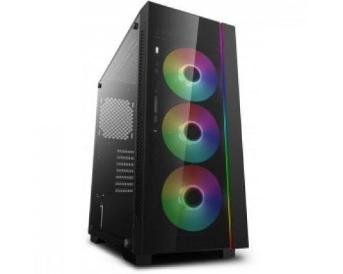 Deepcool MATREXX 55 V3 ADD-RGB 3F ATX, RGB strip, Стекл. фронтальная и боковая панели, 3RGB fans,Без БП