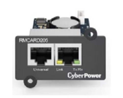 CyberPower SNMP карта RMCARD205 удаленного управления для ИБП серий OL, OLS, PR, OR 1U0-0000050-00G