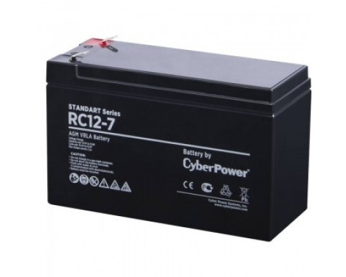 CyberPower Аккумулятор RC 12-7 12V/7Ah