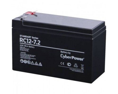 CyberPower Аккумулятор RC 12-7.2 12V/7.2Ah