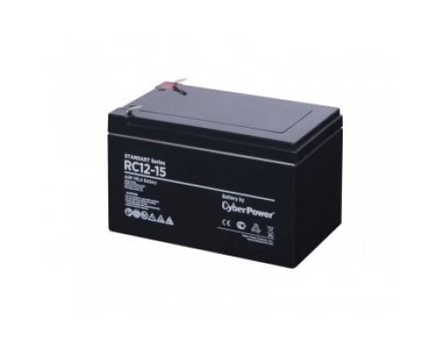 CyberPower Аккумулятор RC 12-15 12V/15Ah