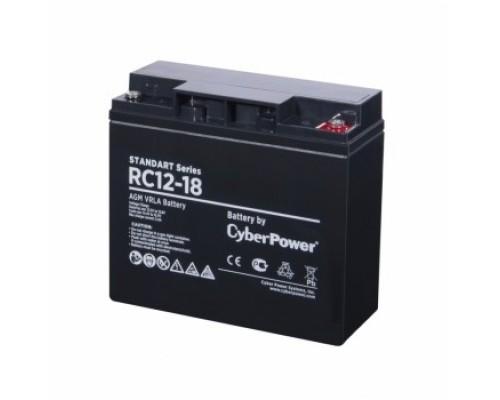 CyberPower Аккумулятор RC 12-18 12V/18Ah
