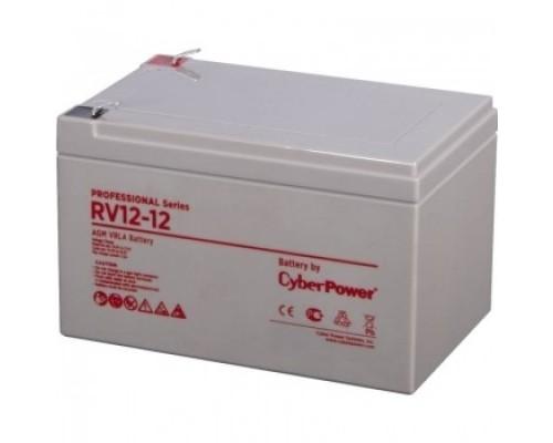 CyberPower Аккумулятор RV 12-12 12V/12Ah