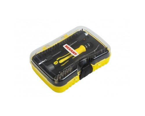 REXANT (12-4706) Набор отверток для точечных работ 45 предметов