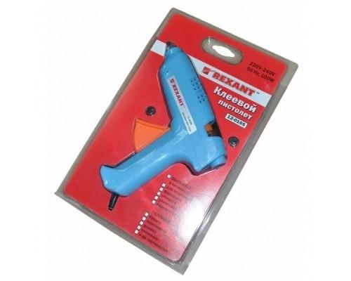 REXANT (12-0105) Пистолет клеевой 100 Вт O 11 мм (блистер)