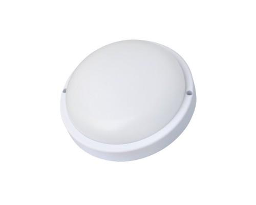 Ultraflash LBF-0301S C01 (Св-к LED влагозащ. с датчиком движения, 12 Вт, IP54, 220В, круг)