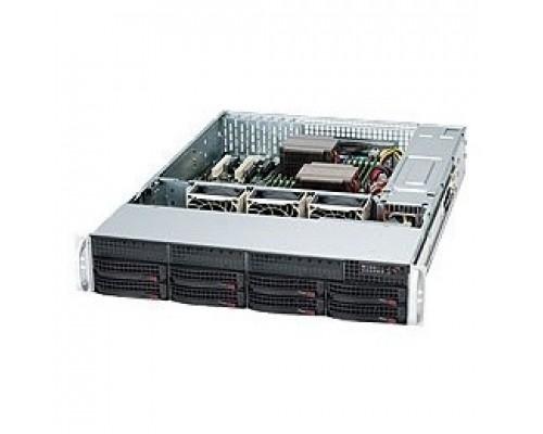 Supermicro CSE-825TQC-R1K03LPB компьютерный Black 2U SC825TQC SAS3 LP chassis w/ Red. 1000W PWS CSE-825TQC-R1K03LPB