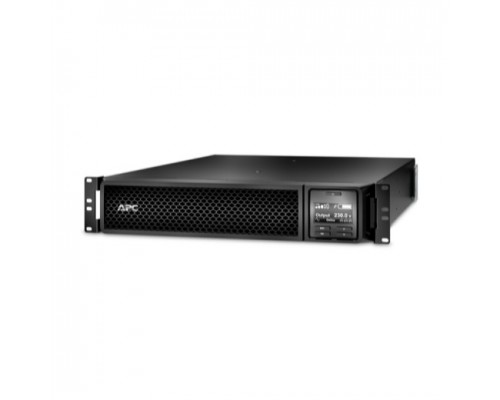 APC Smart-UPS SRT SRT1000RMXLI On-Line, 1000VA/1000W, Rack/Tower, IEC, LCD, Serial+USB, USB, SmartSlot, подкл. доп. батарей со встроенной картой