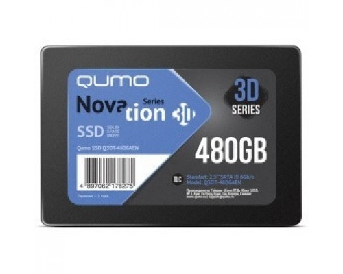 QUMO SSD 480GB QM Novation Q3DT-480GAEN SATA3.0