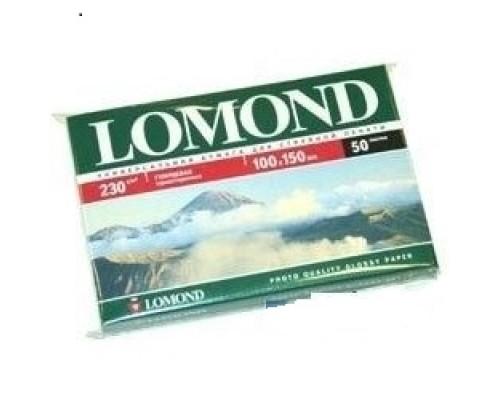 Бумага LOMOND 0102035 Глянцевая фотобумага 10x15 230г/м2, 50л.