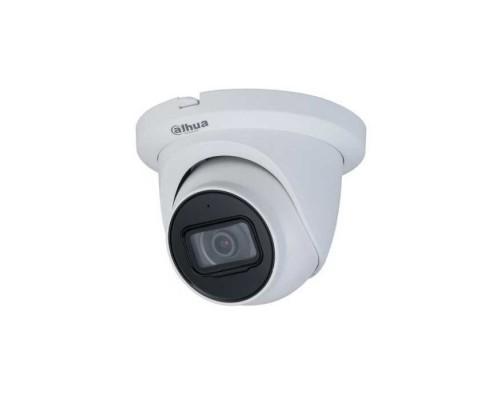 "DAHUA DH-IPC-HDW3441TMP-AS-0280B Видеокамера IP уличная купольная 4Мп 1/2.7"" CMOS,ICR,WDR(120дБ),чувствительность 0.005 лк @F1.6 сжатие: H.265+/H.265/H.264+/H.264/H.264B/H.264H/MJPEG,3 потока."