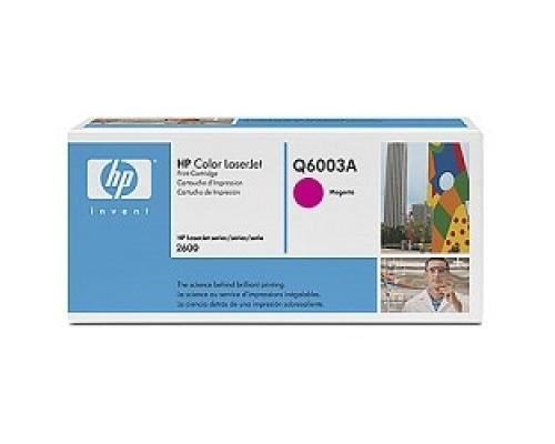 Расходные материалы HP Q6003A Картридж ,MagentaColor LaserJet 2600,
