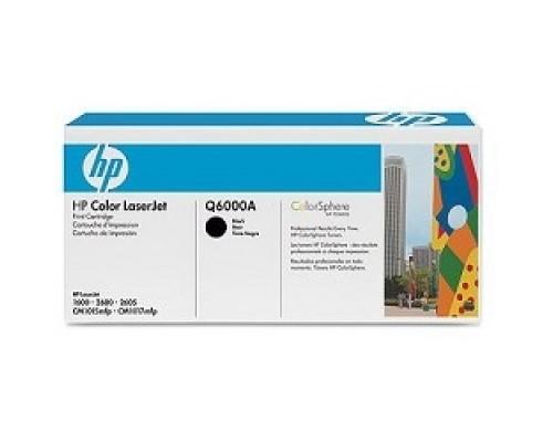 HP Q6000A Картридж ,Black Color LaserJet 2600, Black, (2500стр.)