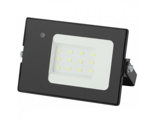 ЭРА Б0043573 Прожектор светодиодный уличный 10Вт 700Лм 6500К датчик нерегулир 122x75x35