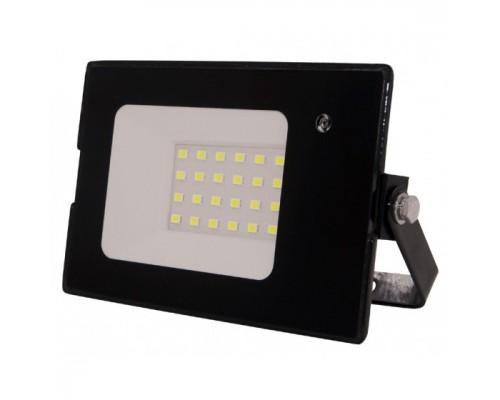 ЭРА Б0043574 Прожектор светодиодный LPR-041-1-65K-020 20Вт 1400Лм 6500К датчик движ нерегулир