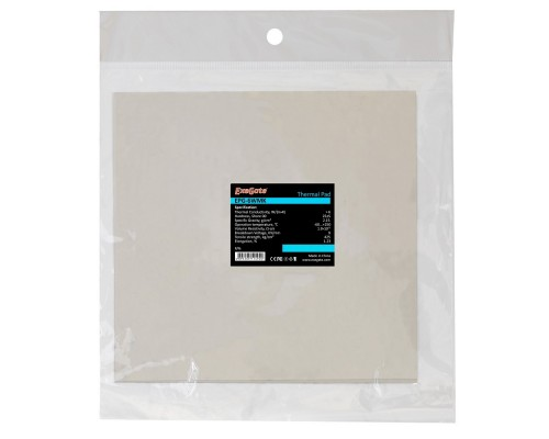 Exegate EX282359RUS Термопрокладка EPG-6WMK, 145x145x1.0 mm