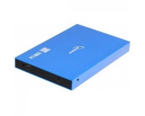 Gembird EE2-U3S-56 Внешний корпус 2.5 синий металлик, USB 3.0, SATA, алюминий