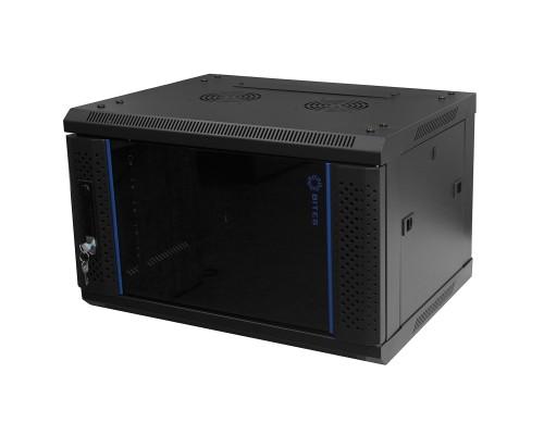 5bites TC6403-06B Шкаф телекоммуникационный 6U / 600*450 / WALL / BLACK