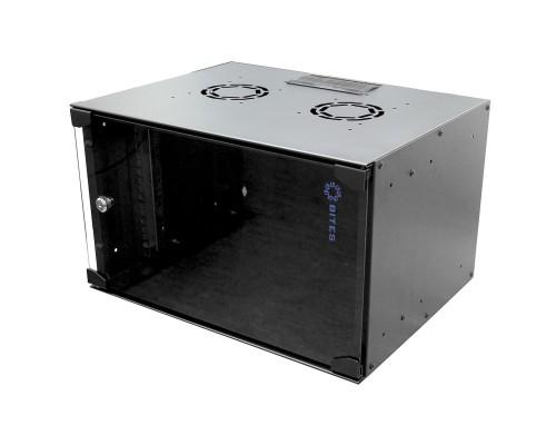 5bites TC5402-06B Шкаф телекоммуникационный 6U / 520*400 / WALL / BLACK