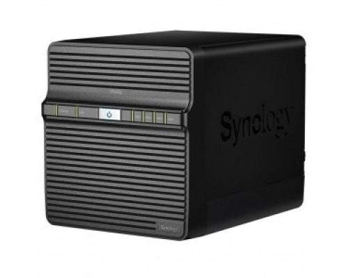 Synology DS420J Сетевое хранилище QC1,4GhzCPU/1GB/RAID0,1,5,6,10/up to 4HDDs SATA(3,5 )/2xUSB3.0/1GigEth/iSCSI/2xIPcam(upto 16)/1xPS/2YW