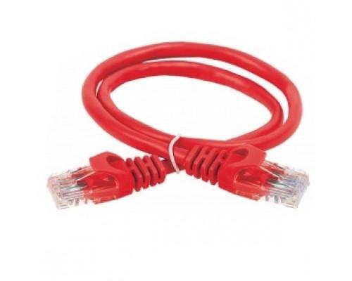 ITK Коммутационный шнур кат. 5Е UTP LSZH 1м красный PC04-C5EUL-1M