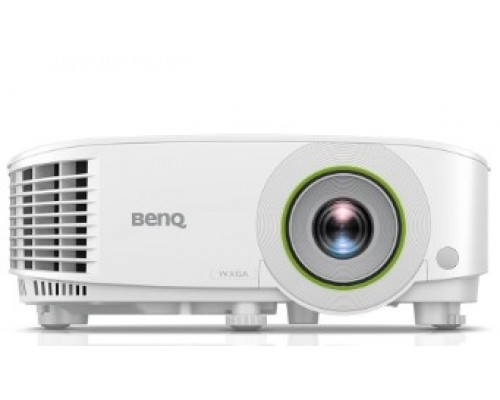 BenQ EW600 9H.JLT77.13E DLP, 1280x800 WXGA, 3600 AL SMART, 1.1X, TR 1.55~1.7, HDMIx1, VGA, USBx2, wireless projection, 5G WiFi/BT, (USB dongle WDR02U inc) Android, 16GB/2GB, White