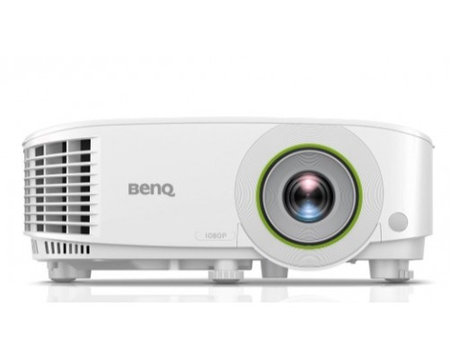 BenQ EH600 9H.JLV77.13E DLP, 1920x1080 FHD, 3500 AL, SMART, 1.1X, TR 1.49~1.64, HDMIx1, VGA, USBx2, wireless projection, 5G WiFi/BT, (USB dongle WDR02U inc), Android, 16GB/2GB, White