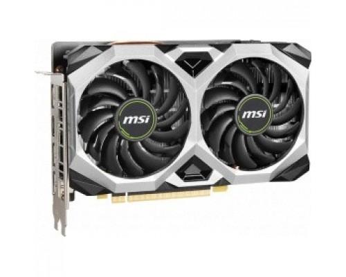 MSI PCI-E GTX 1660 SUPER VENTUS XS OC (RU) nVidia GeForce GTX 1660SUPER 6144Mb 192bit GDDR6 1530/14000/HDMIx1/DPx3/HDCP Ret