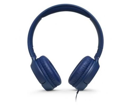 JBL накладные Т500, 32 Ом, синий JBLT500BLU