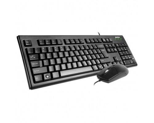 A-4Tech + мышь KRS-8372 Black USB
