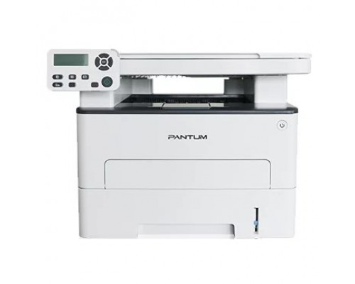M6700D МФУ лазерное, монохромное, двусторонняя печать, копир/принтер/сканер (цвет 24 бит), 30 стр/мин, 1200 x 1200 dpi, 256Мб RAM, лоток 250 стр, USB, серый корпус
