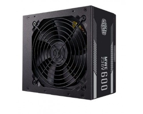 Power Supply Cooler Master MWE White, 600W, ATX, 120mm, 6xSATA, 4xPCI-E(6+2), APFC, 80+ White MPE-6001-ACABW-EU