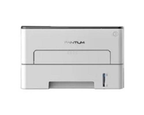 P3010D Принтер лазерный, монохромный, двусторонняя печать, A4, 30стр/мин, 1200 х 1200dpi, 128Mb, USB, серый корпус
