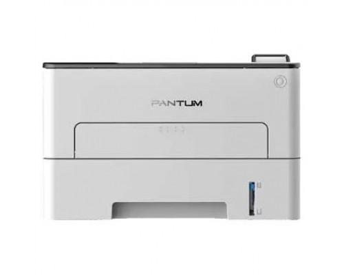 P3010DW Принтер лазерный, монохромный, двусторонняя печать, A4, 30стр/мин, 1200 х 1200dpi, 128Mb, USB, RJ45, Wi-Fi, NFC, серый корпус