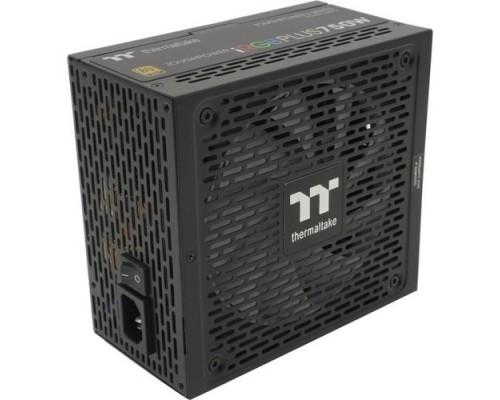 Thermaltake ATX 750W Toughpower iRGB Plus 80+ gold (24+4+4pin) APFC 140mm fan color LED 9xSATA Cab Manag RTL PS-TPI-0750F3FDGE-1