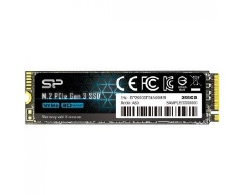 Silicon Power SSD M.2 256Gb P34A60 SP256GBP34A60M28