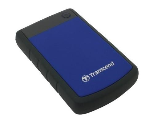 Накопитель на жестком магнитном диске Transcend Внешний жесткий диск Transcend 4TB StoreJet 2.5 H3 Blue