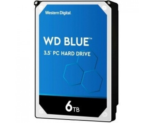 6TB WD Blue (WD60EZAZ) Serial ATA III, 5400 rpm, 256Mb buffer