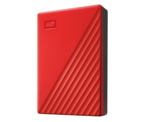 WD My Passport WDBPKJ0040BRD-WESN 4TB 2,5 USB 3.0 red